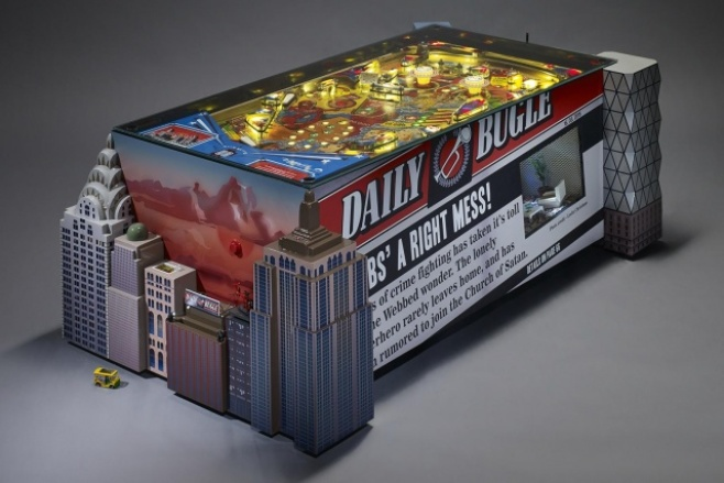 Pinball is dying; there's a whole documentary about it. Or maybe it's not. Either way, we're feeling a little guilty about coveting these coffee tables made out of old machines from Budapest company Altar Furniture.